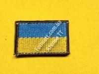 Флаг Украины на липучке
