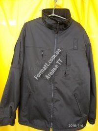 Куртка осенняя на флисе Полиция
